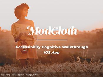 ModCloth portfolio project